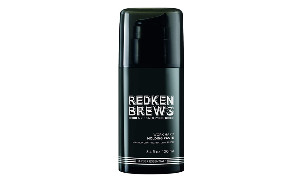 Spray de fixation work hard de Redken Brews