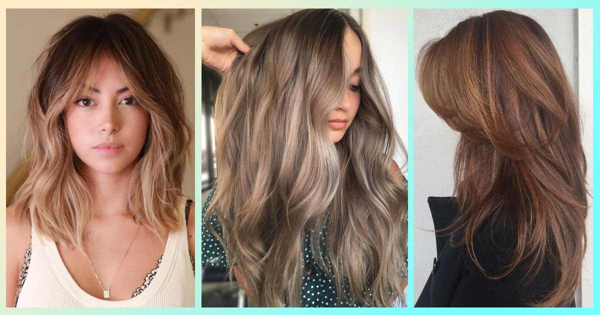 Femmes montrant quelques tendances coiffure automne 2021